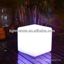 Iluminação material da mobília do diodo emissor de luz da cor do PE de 40cm