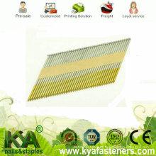 Pregos de fita de papel galvanizado quente DIP