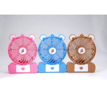 2015 4′′ DC USB Rechargeable Mini Fan with Different Color