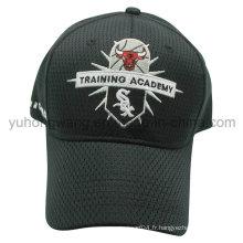 Casquette de baseball en maille, chapeau de sport Snapback avec broderie