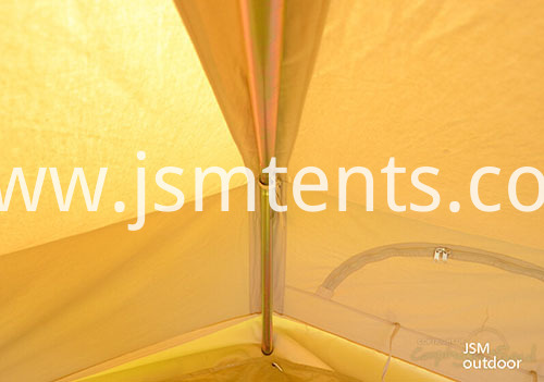 Comfortable 100% Cotton Bell Tents