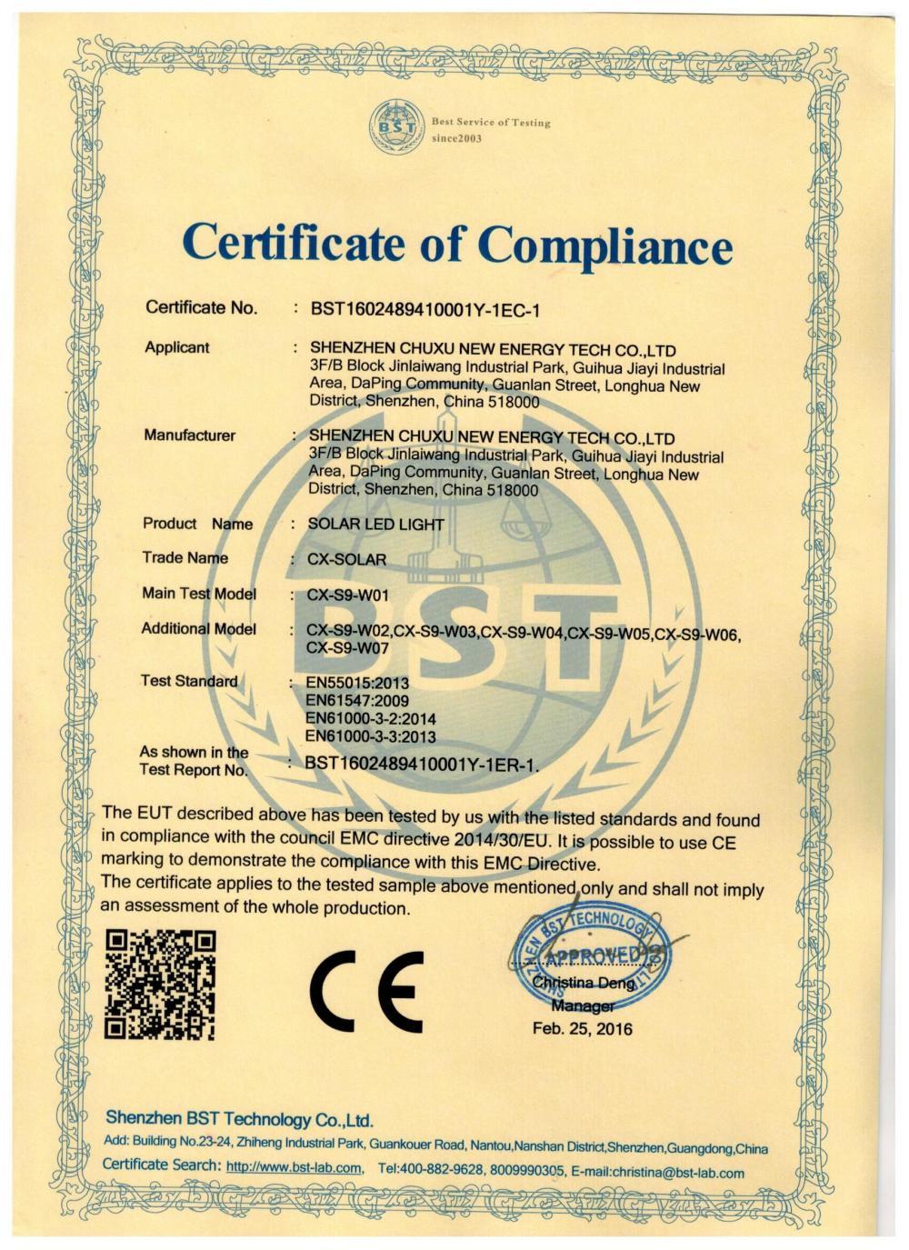 CX-S9-W01-CE-EMC