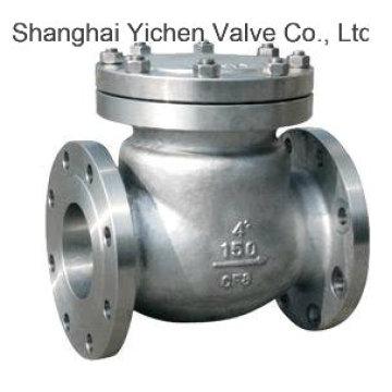 Качели из нержавеющей стали Фланец Китай обратный клапан (H44W)