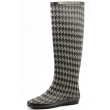 Swallow Grid Cloth And Soft Enough Rubber Rain Boots