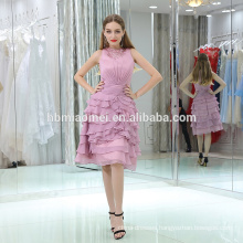 wholesale alibaba designer tiered purple color evening dress 2017