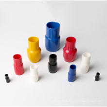 Connecetor de tube terminal d'isolation molle de matière de PVC avec la couleur rouge, approbation de la CE