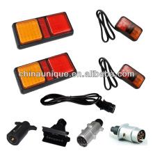 12V & 24V водонепроницаемый трейлер зацеп комплект освещения, электропроводка
