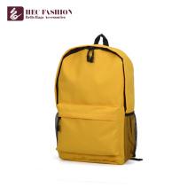 Bolsos de escuela simples del diseño de la fábrica de HEC China para las muchachas adolescentes