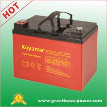 Bateria acidificada ao chumbo de alta taxa 34ah 12V