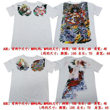 Nouveau T-shirt de tatouage