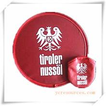 Frisbee en nylon avec impression personnalisée, jouet de sport