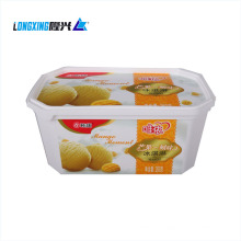 plastic In mold labeling ice cream cup