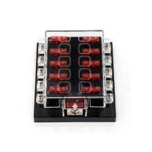 10 fusível do suporte padrão da caixa / carro / caminhão do fusível da lâmina do circuito padrão da maneira auto