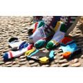 Fábrica fornece por atacado Men′s moda lazer meias de algodão