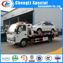 Rhd or LHD Dongfeng 4*2 5ton Platform Recovery Truck for Sale