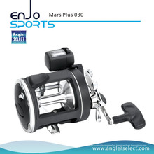 Angler Select Marte Plus Handle Plastic Body 2 + 1 Bearing Pesca Marinha Trolling Reel Fishing Tackle (Mars Plus 045)