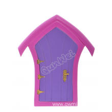 Morden Wooden Fairy door in Multicolor