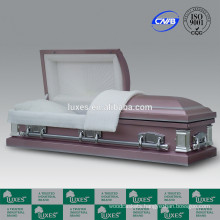 Casket Supplier LUXES US Style 18ga Funeral Casket For Sale