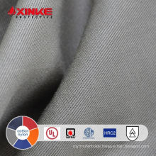 xinke supply 7oz cotton nylon firefighting uniform textile for welder jacket