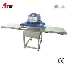 Stc CE Certificate Automatic Pneumatic Double Stations T-Shirt Sublimation Heat Transfer Machine