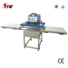 Machine approuvée par CE de presse de la chaleur de double station pour le T-shirt