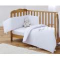 Preço de fábrica em casa têxtil Poliéster criança tamanho Branco bebê Quilts
