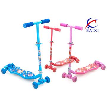 Scooter de 4 rodas para crianças