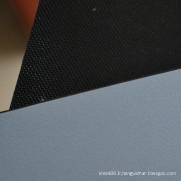 Tapis en caoutchouc de Workbeach d'ESD de 2 couches avec la surface en relief