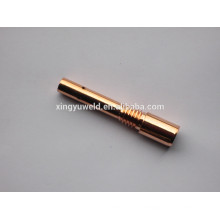 Co2 /mig torch copper contact tip holder
