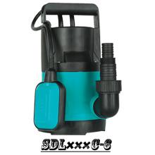 (SDL250C-6) Горячие Продажа 750W Пластиковые Портативный бытовой погружной насос для чистой воды