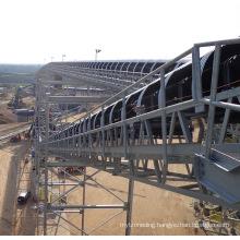 Ske High-Performance Long-Distance Curved Belt Conveyor System