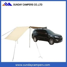 Outdoor fitness equipment canvas car shelter glass awning for sale