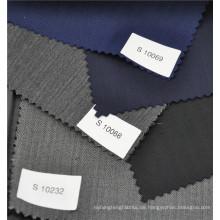 Herringbone heißer Verkauf Kammgarn 70% Wolle 30% Polyester Anzugstoff in verschiedenen Farben
