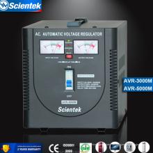 Eingang 130 bis 260V Ausgang 220V / 230V Auf Gefriergerät prüfen 3000va Spannungsregler AVR Automatischer Spannungsregler
