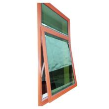 aluminum bathroom top hung casement window