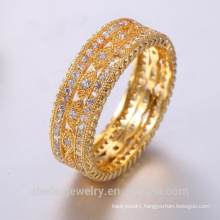 2018 hot style gold rings design for women