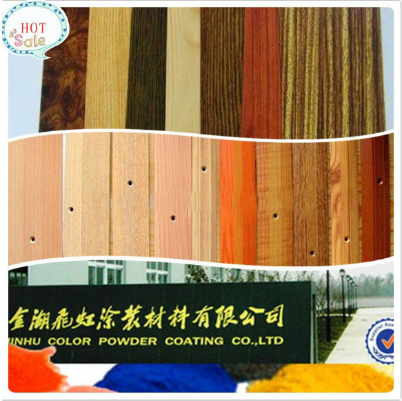 Efek kayu thermosetting Transfer panas powder coating