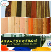Thermosetting wood effect Heat transfer powder coating
