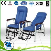 3 Crank Backrest Adjustable Medical hospital steel transfusion chair
