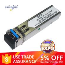 Módulo de fibra óptica gigabit 3G CWDM Comprimento de ligação de 40 km e Dissipação de baixa potência de 1,5 W