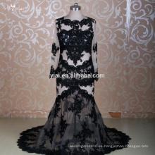 RSW1309 Yiaibridal Lace Sexy ver-a través de los vestidos de noche de la boda de sirena