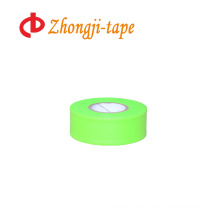 lime green flagging warning tape