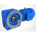 DOFINE S series shaft mounted helical worm speed reducer