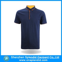 Shenzhen Dress Fashion Cotton Black Man Polo T-Shirt