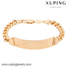 74623-Xuping Jewelry Fashion Brass Bracelets With 18K Gold Plated