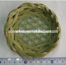 Круглый чайный лоток Bamboo Plate Bamboo Dinnerware
