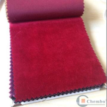 Tissu de velours rideau de Chine Dubaï