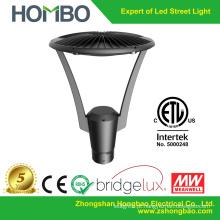 2015 alibaba venda quente moderno levou jardim luz alumínio poste luz etl