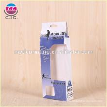 Высокое качество сложенном виде прямоугольной коробки мобильный зарядное устройство