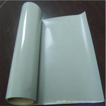 Transparente weiße Farbsilikon-Gummiplatte der hohen Temperatur